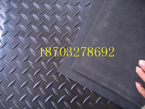 产品名称:黑色柳叶橡胶板01
