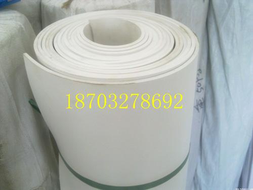 产品名称:白色橡胶板